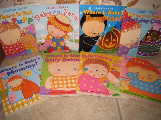 We love all Baby Books By Karen Katz