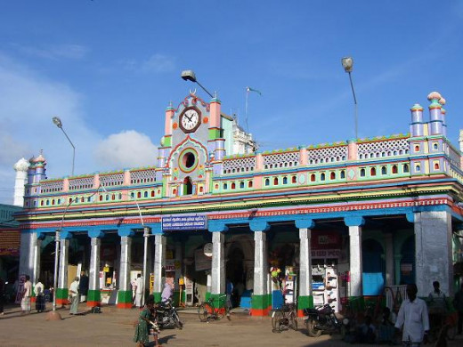 Nagore Dargah, a popular pilgrimage center of Muslims in South India