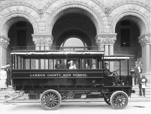 Photo of 1912 School Bus