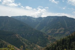 Uinta-Wasatch-Cache National Forest, Mount Naomi Wilderness, Wellsville Mountains, Wind Cave Trail