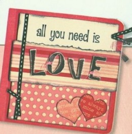 a great example of a love book from www.scrapbookingwithlove.com