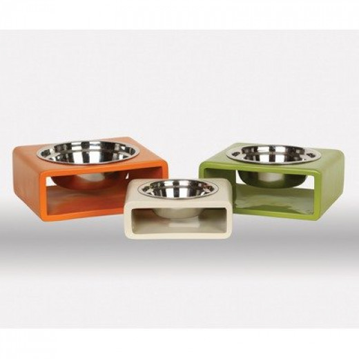 Elevated Food And Water Bowls For Dogs