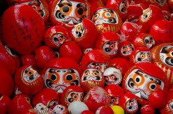 Daruma: The Little Round Bearded Doll From Japan