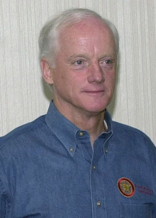Governor Frank Keating, Governor for the state of Oklahoma presides over weighty issues like hamburgers.