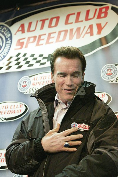 Auto Club Speedway has increased attendance by cutting a race and bringing out celebrities