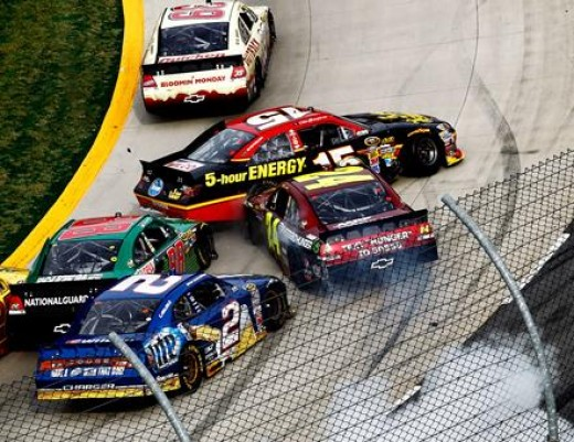 Martinsville combines hard hitting on the track with an old-school, low-cost experience off it to maintain attendance