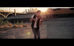"""Review of David Fertello's violin cover of Macklemore's """"Can't Hold Us"""" ft. Ryan Lewis"""