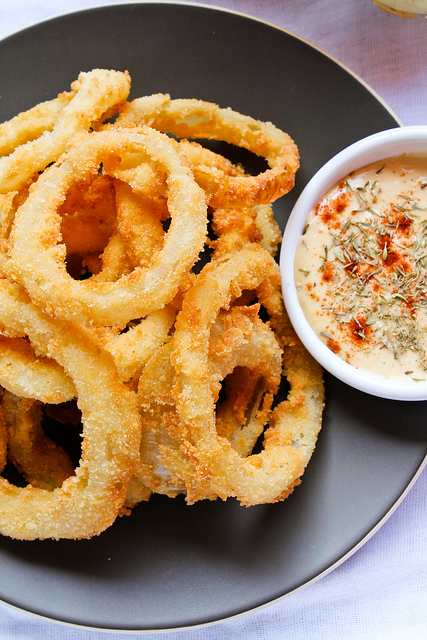 The Ultimate Crispy Onion Rings