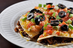 Easy Peasy Mexican Pizza