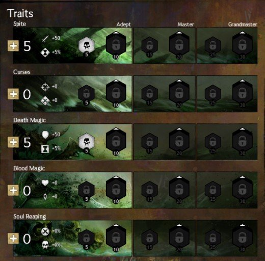 Guild Wars 2 Traits