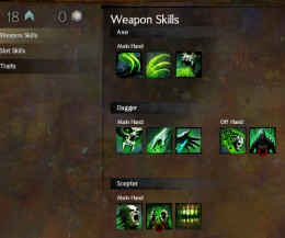 Guild Wars 2 Weapon Skills