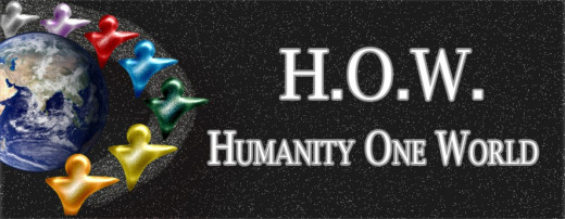 Join a bunch of optimists and dreamers on Humanity One World
