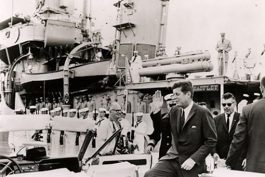 JFK- His energy seemed unstoppable