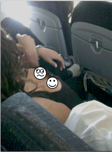 Dirty things people do on the airplane~