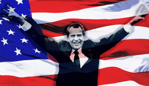 'Merica and Nixon ended their love affair on the most bitter of terms