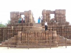 Konark Templo del Sol, Orissa.