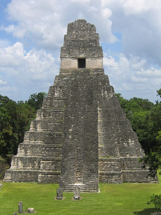 The Mayan Temple of Tikal, the inspiration for Cahl