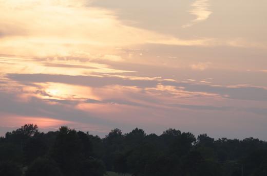 Typical Oklahoma Evening Sky