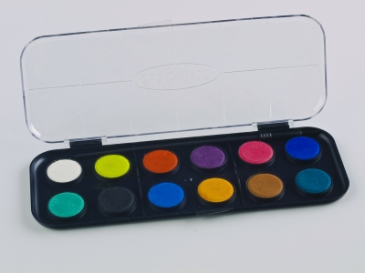 You will need watercolours for this method.