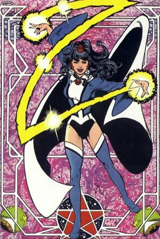 zatanna justice league heroes - photo #24