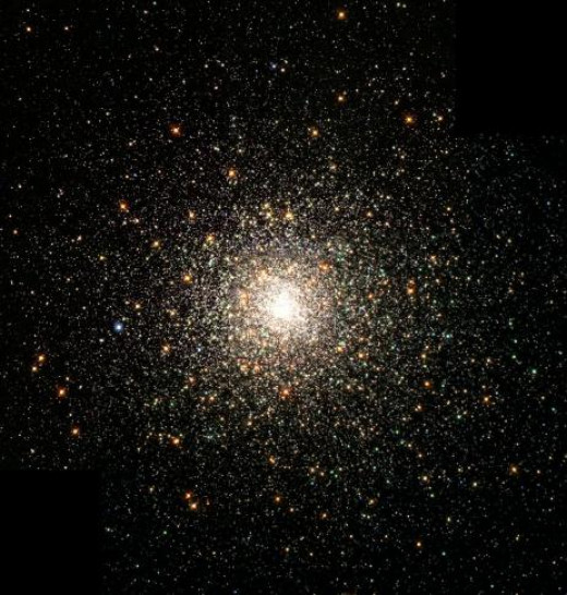 Ancient Stars Cluster