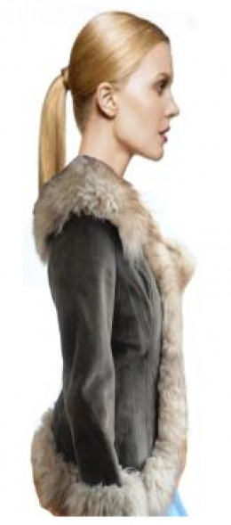The Infamous 1970's Suede Coat with Fur