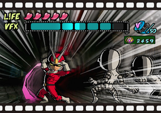 Anime style graphics in the excellent Viewtiful Joe on the GameCube