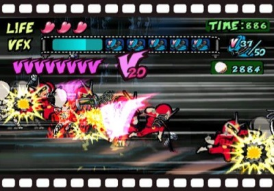 Viewtiful Joe kick's ass on the Nintendo GameCube