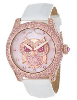 Betsey Johnson women's owl watch