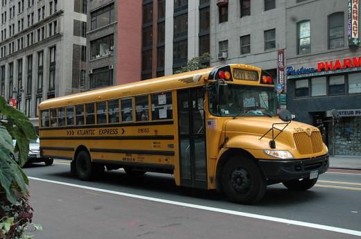 A New York City School Bus