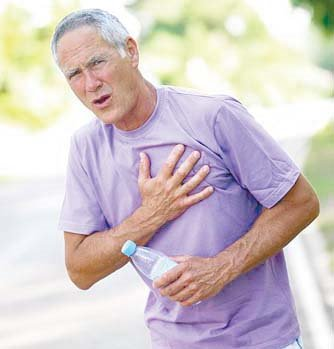 This is awareness of the Heart beat. Though normal individuals can experience the heart beat during exercise or emotional stress, under pathological states