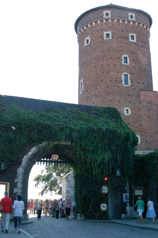 Wawel Castle Watchtower, Krakow, Poland