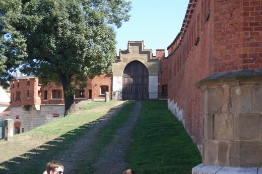 Grounds at Wawel Castle, Krakow, Poland