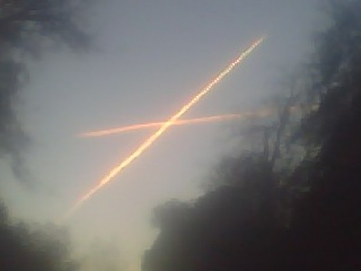 Chem Trail Cross