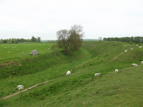 the ditch/henge