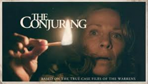 The Conjuring is a rated R horror film that is based on true events. The film features a dead girl, a doll that comes to life and other freaky things. Also don't forget the demon mother, that possesses the mother of the family.