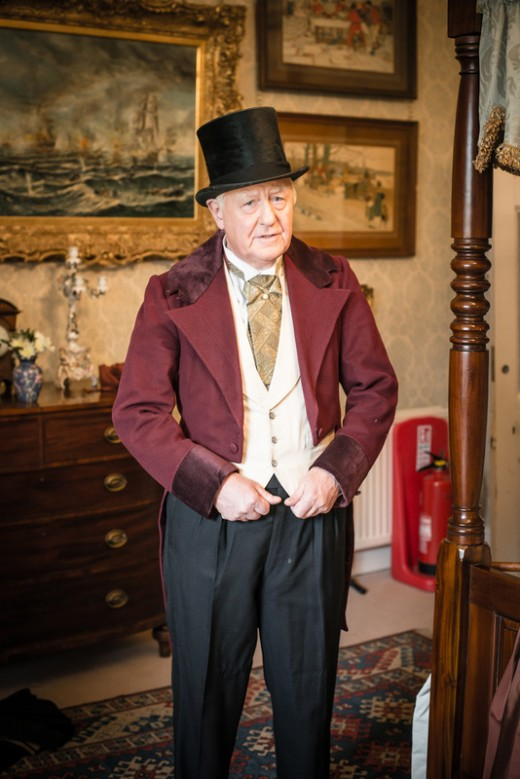 Sir Benjamin Slade as Lord Maunsel in Hedda Gabler. Photo copyrighted by Robert Lipnicki and used with permission.