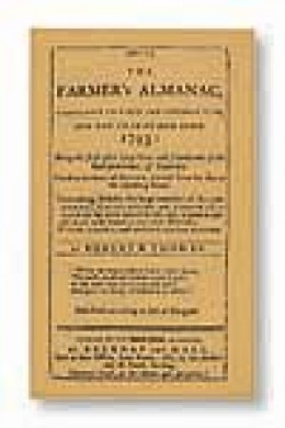Farmer's Almanac from 1793