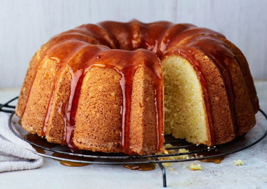 lemon buttermilk bundt cake