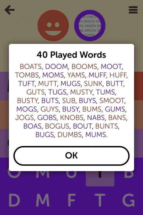 Four-LetterPress! You can watch this game by going to Link #4.