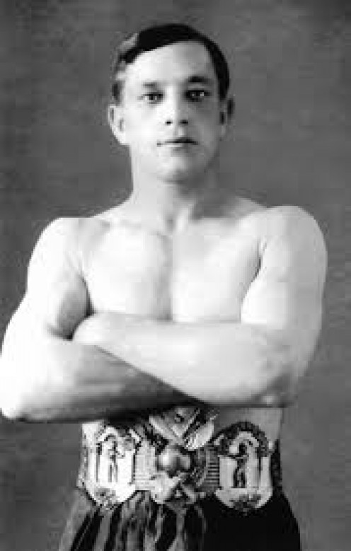 Stanley Ketchel was a power punching middleweight champion who has 48 knockouts in 55 wins.