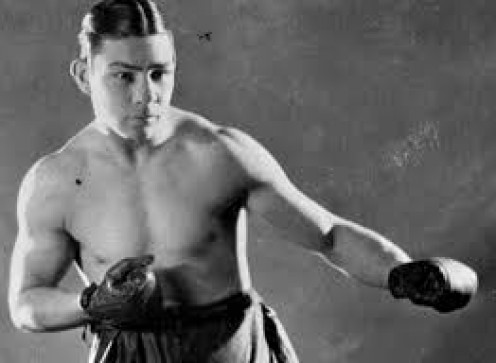 "Harry Greb was one of the best 160 pound boxers in history. Among his victims was a win over ""The Toy Bulldog"" Mickey Walker."