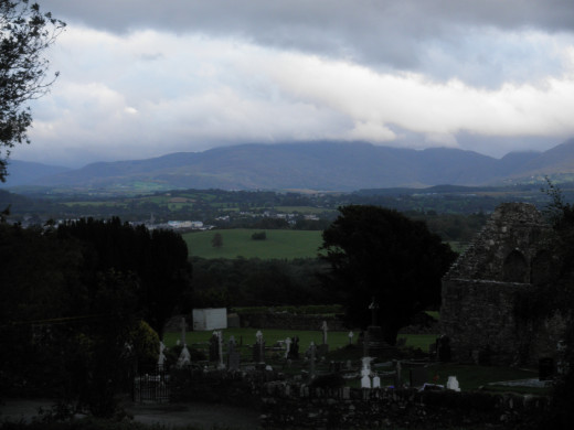 View from Aghadoe Heights Hotel and Spa in Killarney.