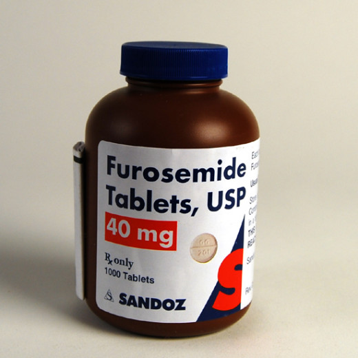 The most widely used diuretic is furosemide in a dose of 40-80 mg orally or 20-100 mg intravenously. The effect is evident within 1-2 hours of oral dose and within 30 minute of the intravenous dose.