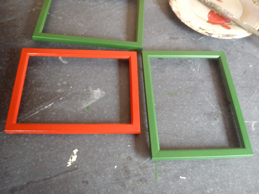 If you are making more than one frame, painting multiple frames at the same time a lot of time.
