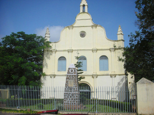 St. Francis CSI Church, in Kochi , earlier called Cochin, originally built in 1503, is the oldest European church in India