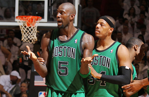 The Celtics dumped both Garnett and Pierce this off-season because while talented, they weren't good enough to contend