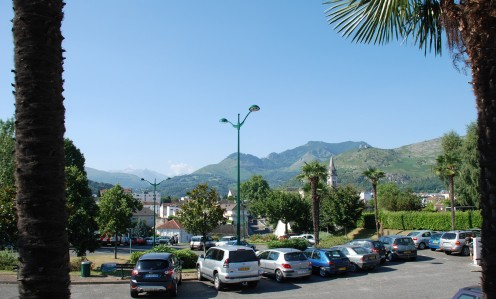 Panorama from Station Square, Lourdes