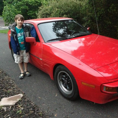 Kid Love 944's - This is now my Son's car!
