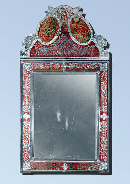 Antique mirrors are more likely to have paranormal phenomena associated with them.